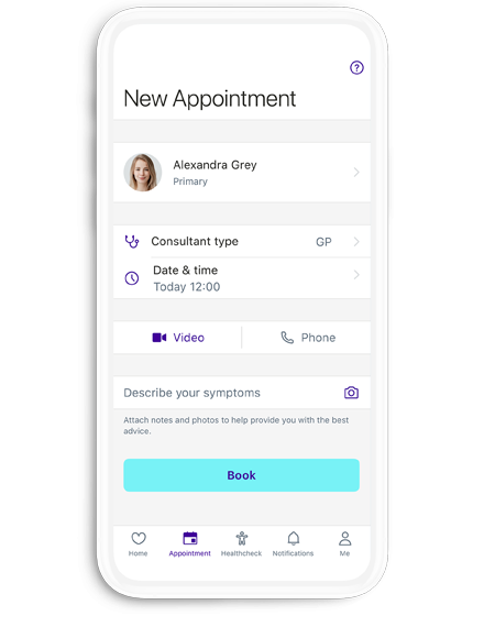 Device booking screen 2 generic